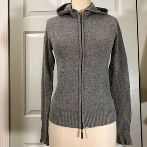 Vince Cashmere Hoodie Front Pockets Sweater